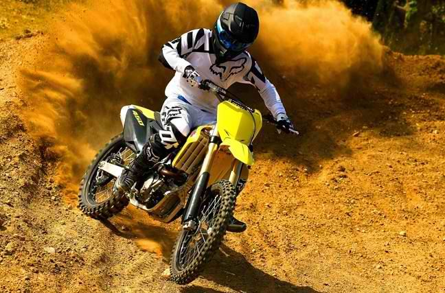 Choose The RM-Z450 — when you're serious about winning! #Suzuki #MotoCross #DirtBike #RMZ450