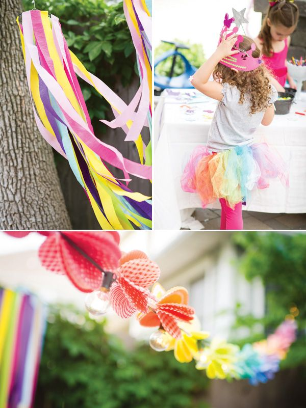 Playful Rainbow Butterfly Princess Party Circus Birthday PartiesBirthday FoodsOutdoor IdeasPrincess