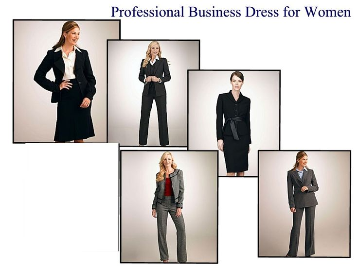 Dress code professional image name