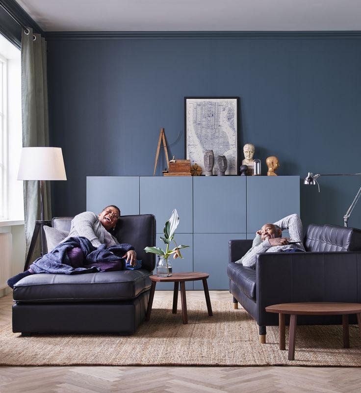 306 best woonkamers images on pinterest for Moderne slaapkamer catalogus