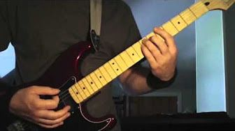 Megadeth Dread and the Fugitive Mind Guitar Lesson - YouTube