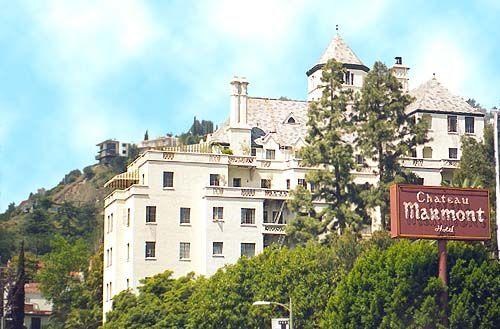 the chateau marmont. #LosAngeles #JuicyDestinations