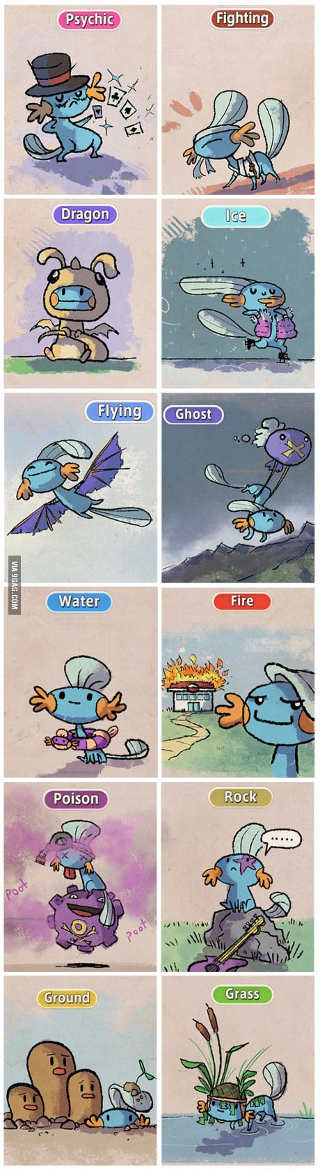 Incase that ur favorite pokemon is mudkip