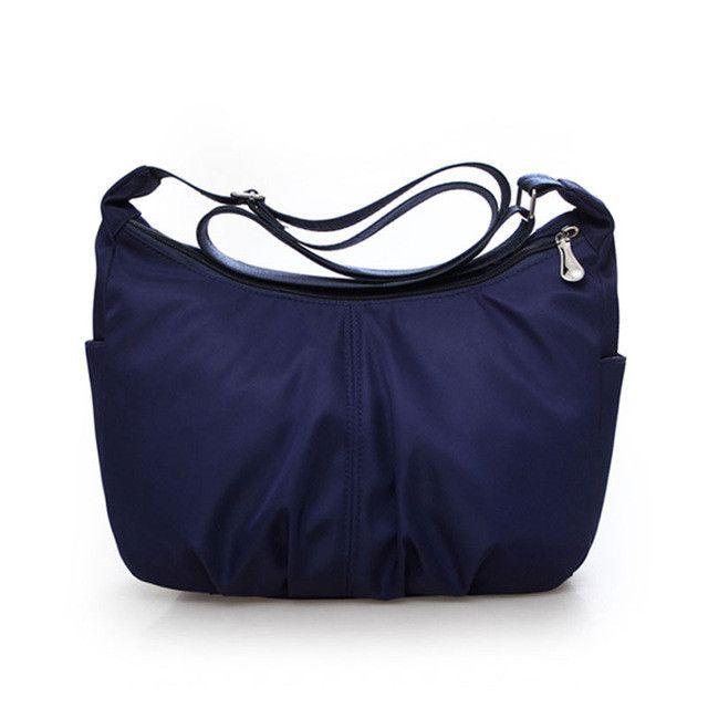 High Quality Women Crossbody bags Waterproof Nylon Fashion Shoulder Bag Sling Bag Female Lady Messenger Bags Ruched Hobos Design
