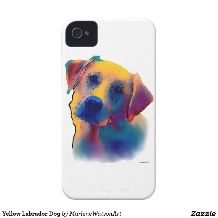 Yellow Labrador Dog Case-Mate iPhone 4 Case