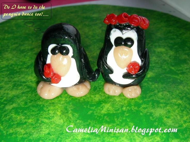 Camelia Minişan: Fimo story: Pinguini