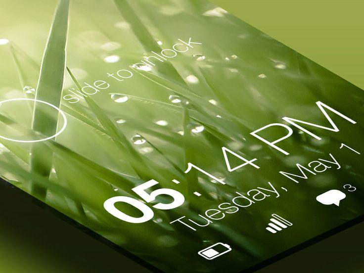 Lock screen iPhone by Pieter Goris