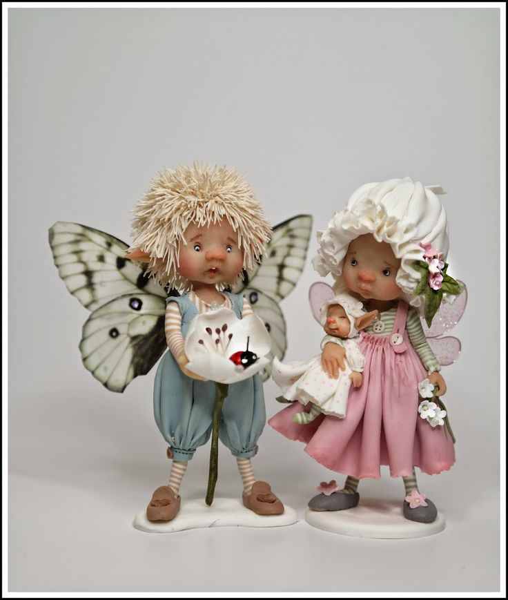 enaidsworld: Fairy puppets