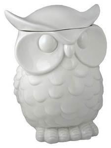 $38 - Hoo Loves an Owl Cookie Jar?Decor, Ceramics Cookies, Owls Cookies Jars, Kitchens Dining, Storage Jars, Owls Ceramics, Cookie Jars, Streamline Owls, Products