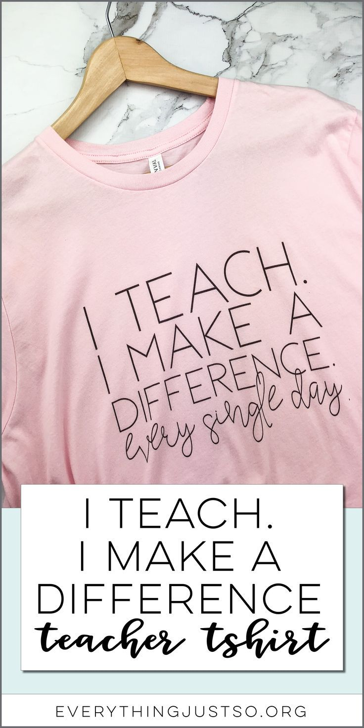 I Train. I Make a Distinction Instructor Tee | This cute instructor tshirt is a reminde…