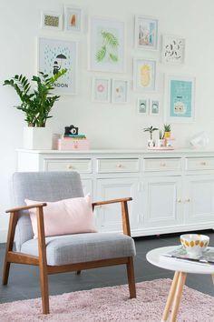 EKENÄSET fauteuil | #IKEArepin #nieuw #stoel #retro #grijs #woonkamer #leesstoel