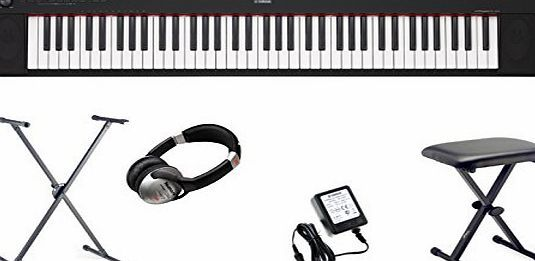Yamaha NP-32 Piaggero Portable Digital Piano Keyboard including AC Adapter, X Stand, X Stool, Headphones With superb tone in a light and compact keyboard, the Piaggero NP-32 finds the perfect balance of elegance and simplicity. Designed around the essential elements (Barcode EAN = 5060231859964) http://www.comparestoreprices.co.uk/december-2016-week-1-b/yamaha-np-32-piaggero-portable-digital-piano-keyboard-including-ac-adapter-x-stand-x-stool-headphones.asp