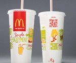 McDonald's adds QR codes to packaging for access to nutritional info + facts about the brand. Good use
