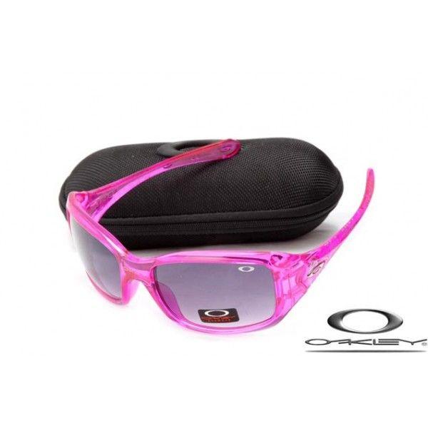 Discount Oakley Necessity Sunglasses With Pink Frame/Mauve Iridium Lens