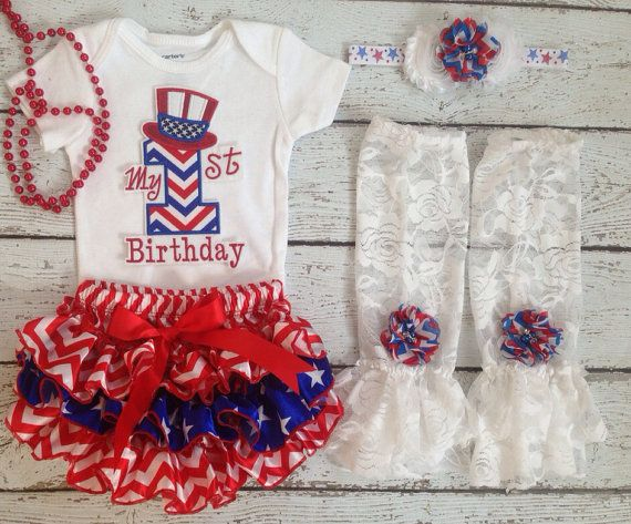 4th of july birthday party supplies