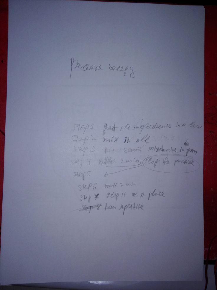Idee 2 Pannenkoeken recept stappen.