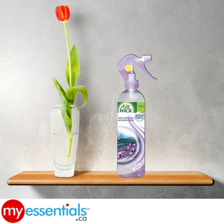 Get your homes to smell of fresh mountain breeze and wild lavender scent even in these cold winter days    Get the Air Wick Mist pump from MyEssentials.ca!
