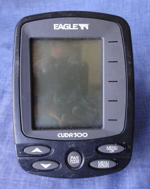 Only CUDA 300 head ,no any accessories EAGLE CUDA 300 Fish Finder