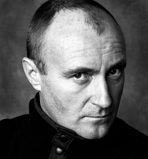 Phil Collins (1951) - English singer, songwriter, multi-instrumentalist and actor. Photo by Andy Gotts