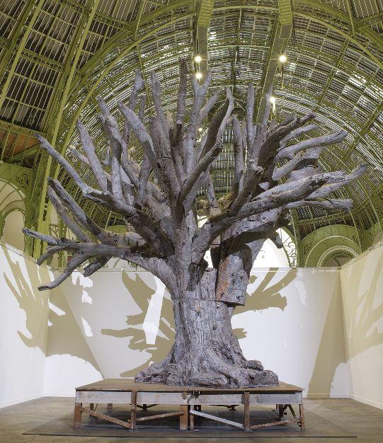 Ai Wei Wei - Iron Tree - Fiac 2013
