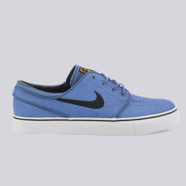 Nike SB Nike Zoom Stefan Janoski Leather Trainers New Slate