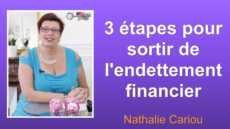 """3 étapes pour sortir de l'endettement financier https://youtu.be/H_mrKrGx4VQ  Fin inscription """"Sortez de l'impasse financière"""" http://sortezdelimpasse.com/go-sdi/?a_aid=ValerieP  #finances #endettement"""