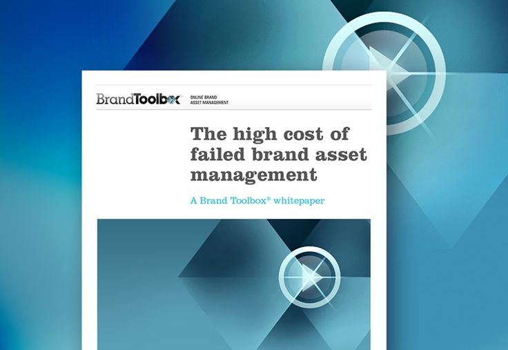 Brand Toolbox - The high cost of failed brand asset management whitepaper PDF
