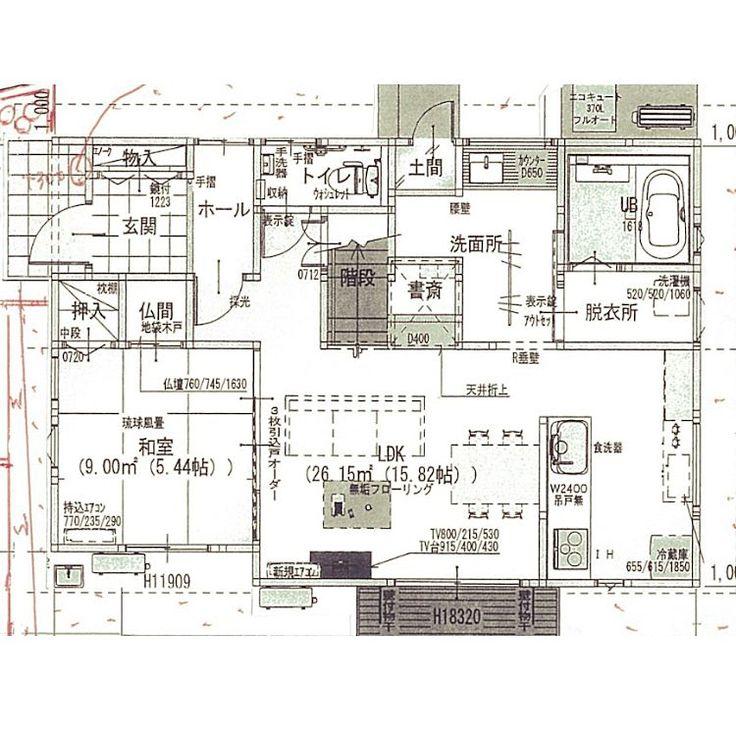 マイホーム計画/新築建築中/狭小住宅/間取り図/部屋全体のインテリア実例 - 2016-12-27 13:56:12   RoomClip(ルームクリップ)