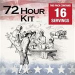 Patriot Pantry 72 Hour Survival Food Kit | 16 Serving Sample Pack