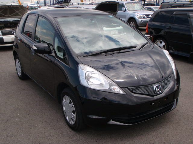 Honda Fit GE 6 (2008) Black