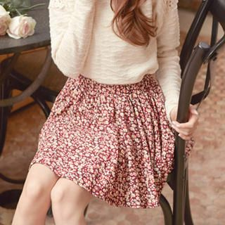 Buy 'Tokyo Fashion – Floral Corduroy A-Line Skirt' with Free International Shipping at YesStyle.com. Browse and shop for thousands of Asian fashion items from Taiwan and more!
