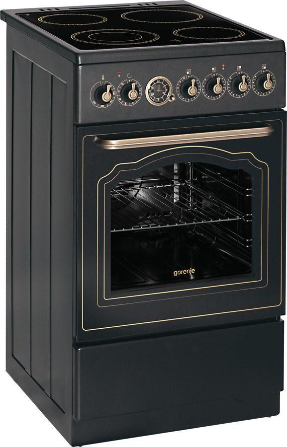 Электрическая плита GORENJE EC55CLB1, черный купить по цене 28 040 рублей в интернет-магазине СИТИЛИНК