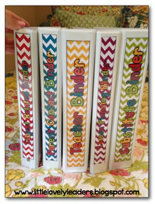 Editable Teacher Binder in chevron! 202 pages to choose from in order to get completely organized!