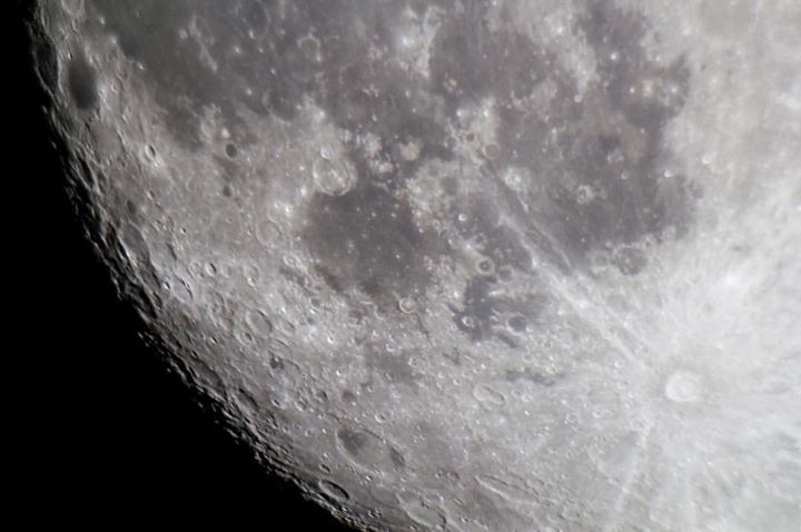 The dark side of the #moon