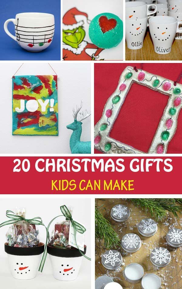 Christmas Gifts Kids Can Make Kid Made Gift Ideas Kid Made Christmas Gifts Toddler Christmas Gifts Christmas Gifts For Kids