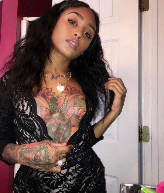 Image result for black women Tattoos