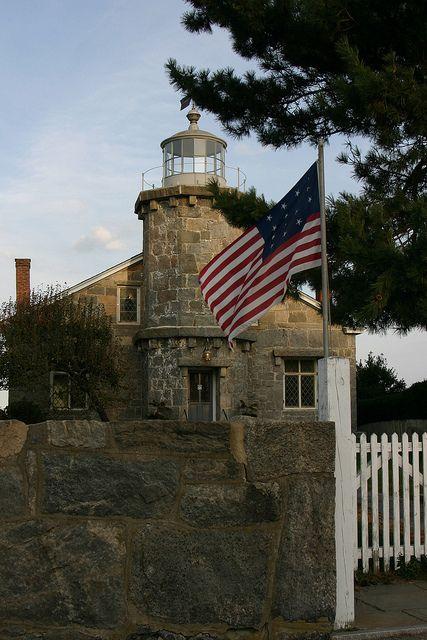 *Connecticut's Stonington Harbor Lighthouse