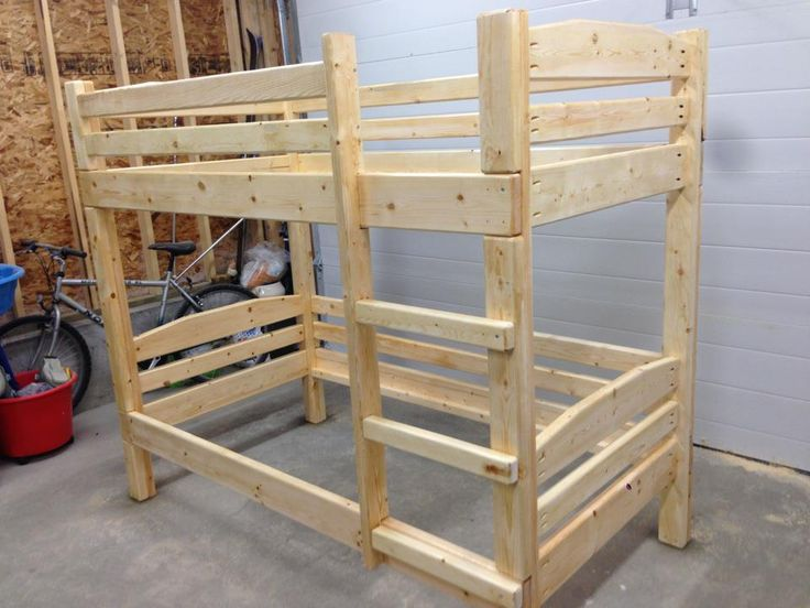 1000 ideas about bunk bed plans on pinterest boy bunk for Bunk bed woodworking plans