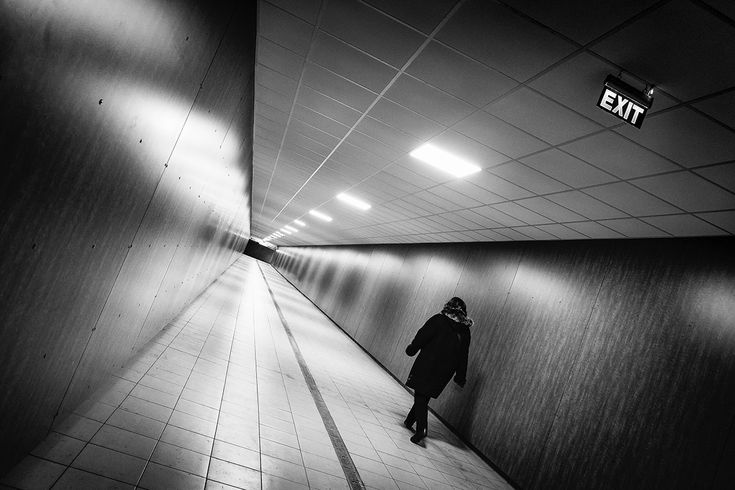 Exit. #clujnapoca, #romania, 2017.  Click for an original, limited edition, signed, fine art print on Hahnemühle high quality paper. #fineart #print #deco #photography #monochrome #urban #city #architecture #urbex #exploration #travel #pierrepichot