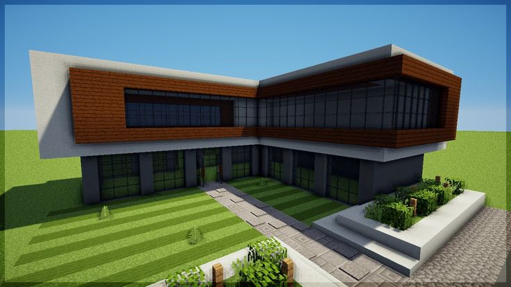minecraft construindo uma casa moderna 8 casas modernas