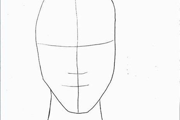 how to draw art nouveau faces