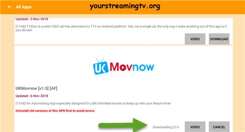 How To Install UK Movnow APK On Android – Your Streaming TV | APKS