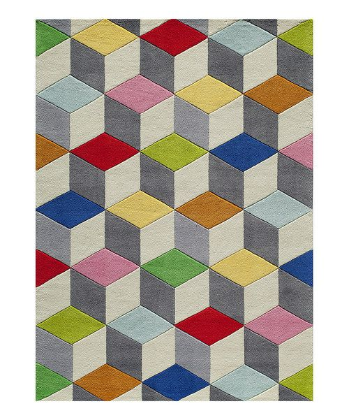 lil mo by momeni rugs gray u0026 red prism rug