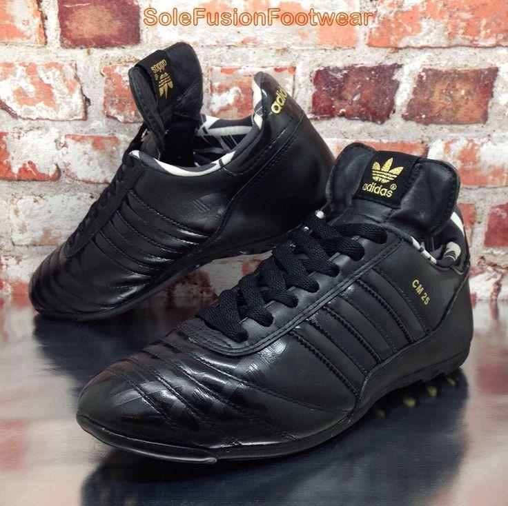adidas Mens Copa Mundial Football Trainers Black sz 6 Rare Sneaker US 6.5 39 1/3    eBay