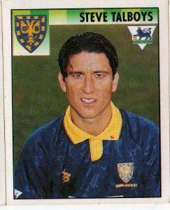 WIMBLEDON - Steve Talboys #517 MERLIN'S English Premier League 1995 Football Sticker