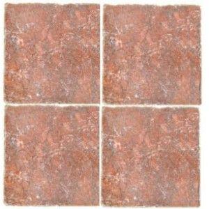 Rojo Alicante Marble Tile Tumbled