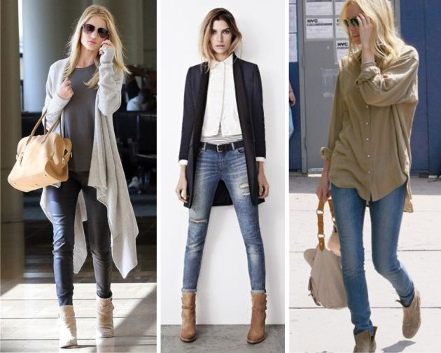 How To Wear Ankle Boots What To Wear With Ankle Boots Best Way ... | Fashion | Pinterest ...