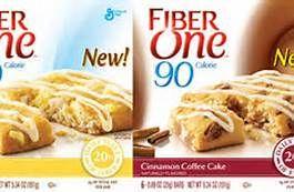 fiber one lemon & cinnamon coffee cake bars. My favorites.  2 ww points. Great snack