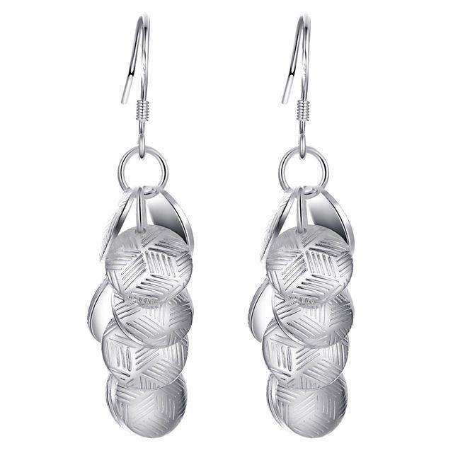 Блестки мода высокого качества Серебряные Серьги для женщин ювелирные изделия серьги/RRJCNLSN QGHFCPME