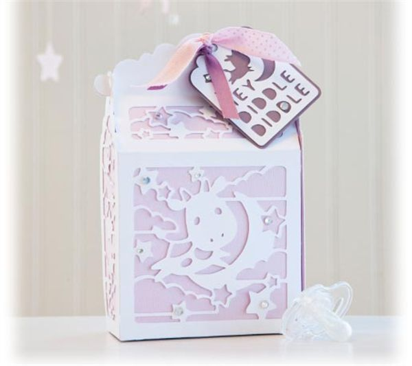 Baby Gift Ideas Using Cricut : Project center cricut mini? baby gift box with a